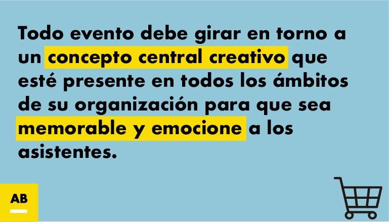 Eventos y concepto central creativo-1