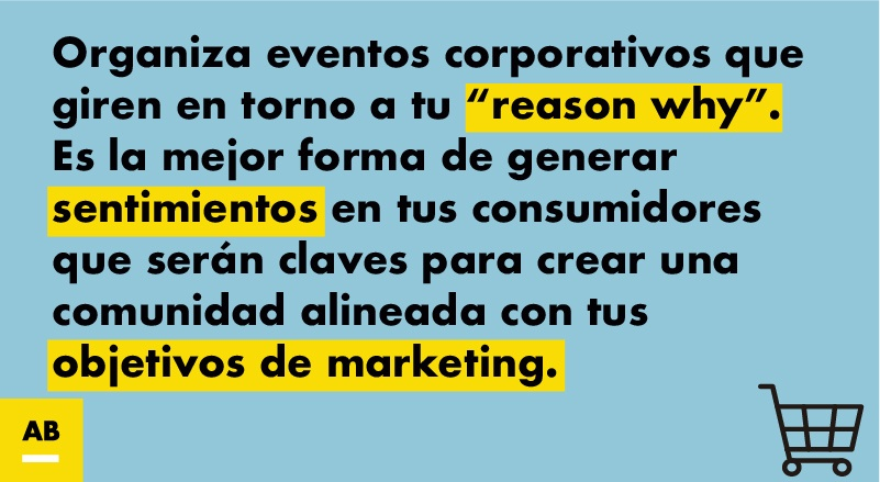 Eventos y objetivos de marketing