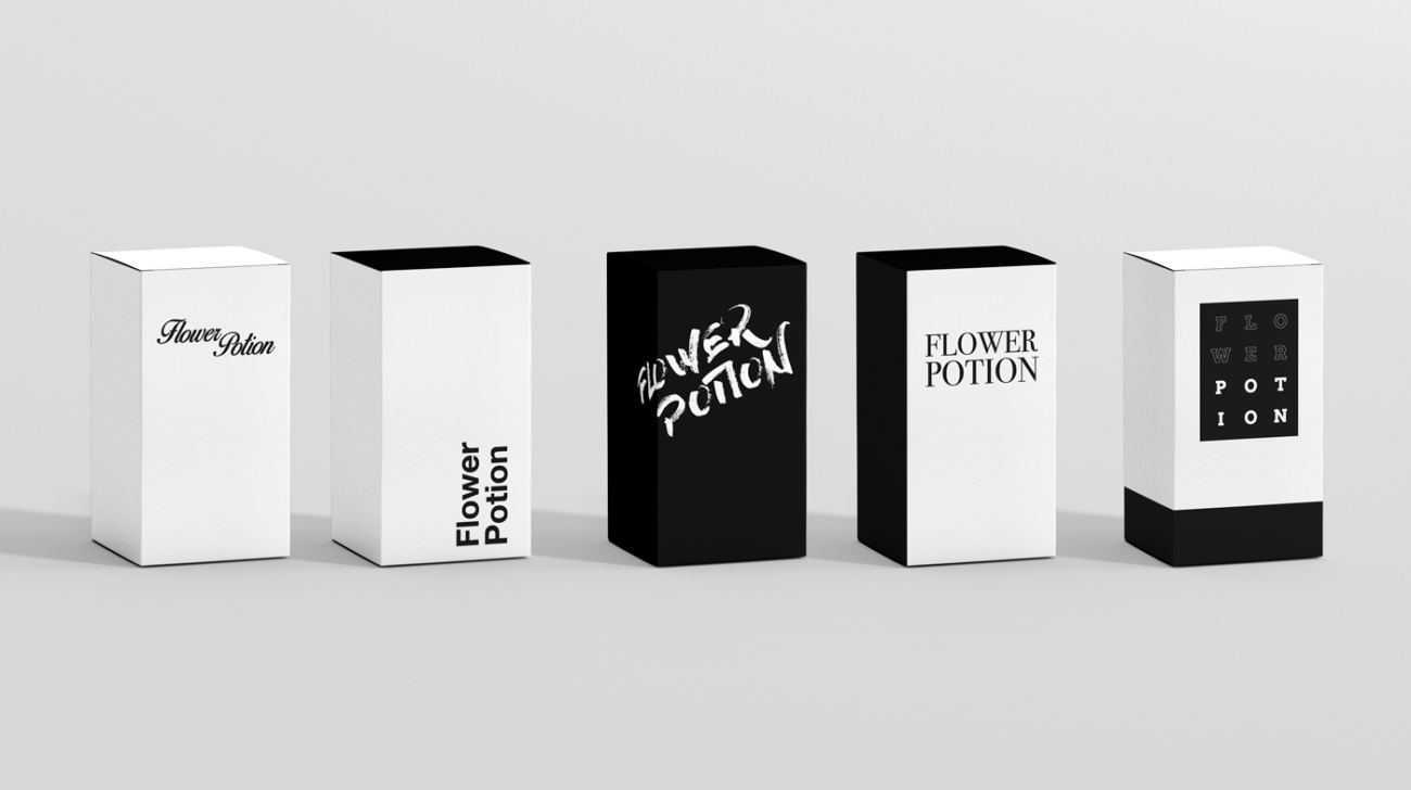 juego tipografía de marca