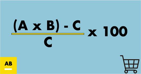 Fórmula para calcular el ROI de una acción promocional