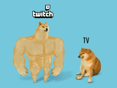 Twitch rompe las reglas  del juego mediático