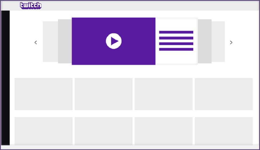 ejemplo de formato publicitario en Twitch