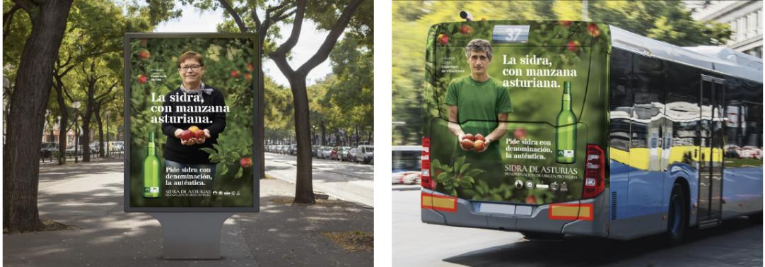 agencia de publicidad de Sidra de Asturias