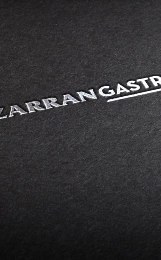 Branding para Lizarrán Gastro.