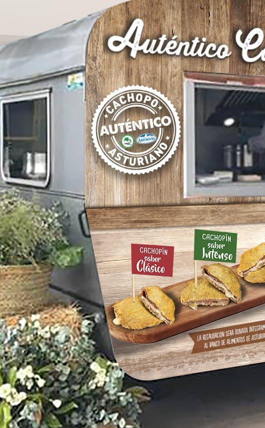 Diseño y producción de Foodtruck para Central Lechera Asturiana.