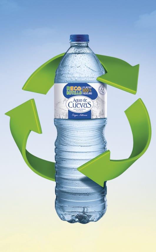 Campaña publicitaria para Agua de Cuevas.